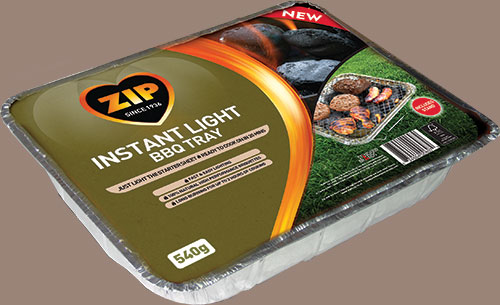 Instant Light Barbecue Tray