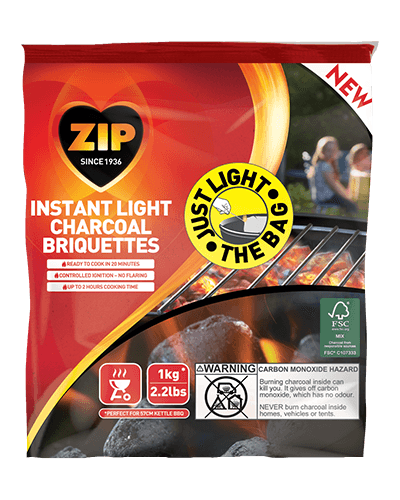Instant Light Charcoal Briquettes